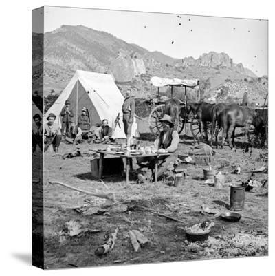 Campsites Among the Foothills, C.1875-1900