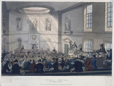 East India House, London, 1808