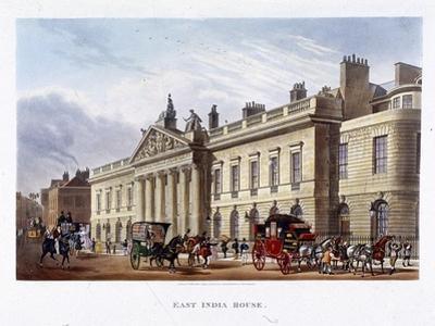 East India House, London, 1836 by Joseph Constantine Stadler