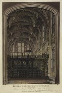 Henry VII Chapel, Westminster Abbey, London by Joseph Constantine Stadler