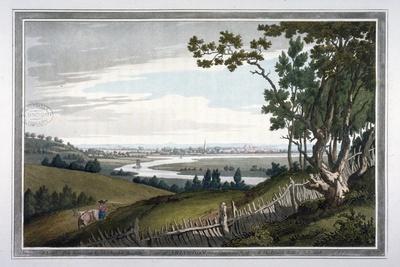 View of Abingdon from Nuneham Park, Berkshire, 1793