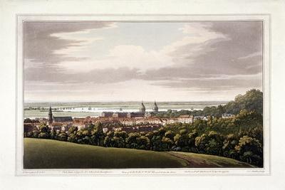 View of Greenwich, London, 1795