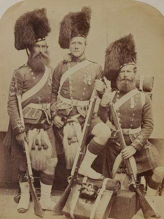 Gardner, Mckenzie and Glen, 42nd (The Royal Highland) Regiment of Foot