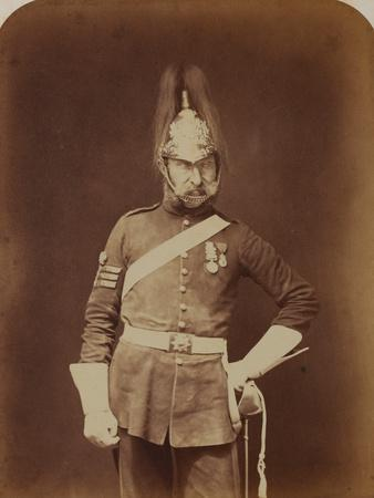 Sergeant-Major Stewart, 5th (Princess Charlotte of Wales's) Dragoon Guards