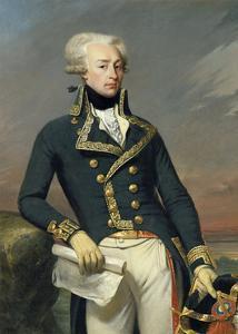 Marquis of La Fayette. Marie Paul Joseph Motier, Ca.1825 by Joseph D. Court