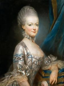 Portrait of Archduchess Maria Antonia of Austria (1755-179) by Joseph Ducreux