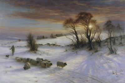 The Evening Glow by Joseph Farquharson