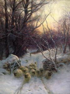 The Sun Had Closed the Winter Day, 1904 by Joseph Farquharson