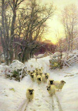 The Sun Had Closed the Winter's Day by Joseph Farquharson
