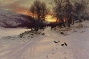 When the West with Evening Glows, 1901 by Joseph Farquharson