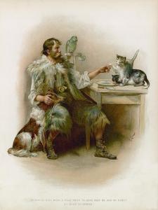 Illustration for Robinson Crusoe by Joseph Finnemore