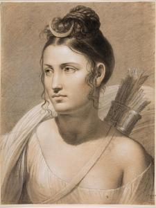 Diana, Second Half of the 18th C by Joseph-François Ducq