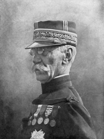 Joseph Gallieni, French First World War General, September 1914--Giclee Print