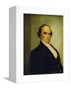 Portrait of U.S. Statesman and Lawyer, Daniel Webster (1782-1852) by Joseph Goodhue Chandler