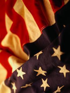 Vintage American Flag by Joseph Hancock