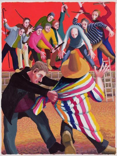 Joseph Hated by His Brothers, 2003-Dinah Roe Kendall-Giclee Print