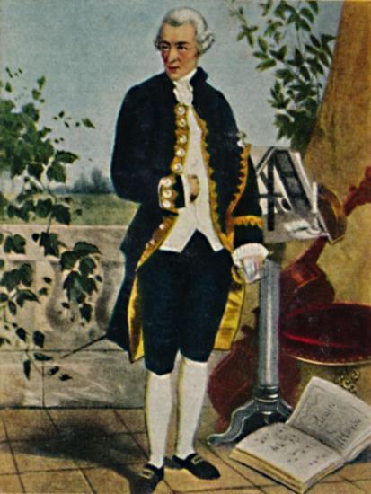 'Joseph Haydn 1732-1809. - Gemälde von Hammann', 1934-Unknown-Giclee Print