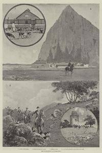 The Calpe Hunt, at Gibraltar by Joseph Holland Tringham