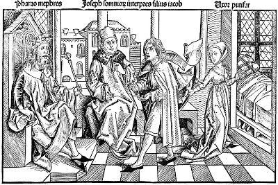 Joseph Interpreting Pharaoh's Dream, 1493--Giclee Print