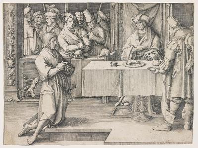 Joseph Interpreting Pharaoh's Dreams, 1512-Lucas van Leyden-Giclee Print