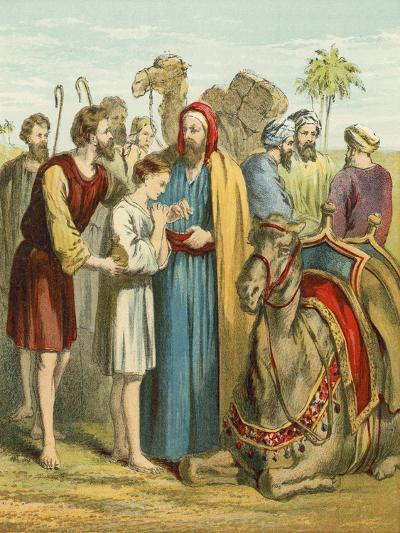 Joseph Is Sold as a Slave by His Brothers--Giclee Print
