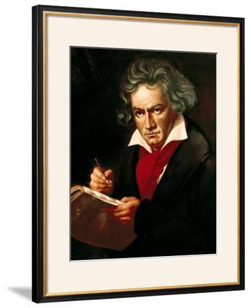 """Ludwig Van Beethoven (1770-1827) Composing His """"Missa Solemnis"""""""