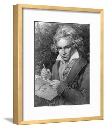 Ludwig Van Beethoven Composing His 'Missa Solemnis', 1819