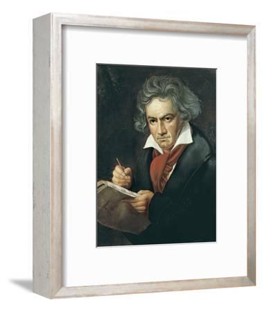 Ludwig Van Beethoven Composing the Missa Solemnis