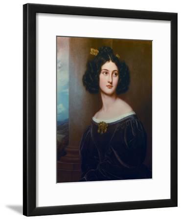 Nanette Kaula.Aus Der Schoenheitengalerie Koenig Ludwigs I. in Schloss Nymphenburg
