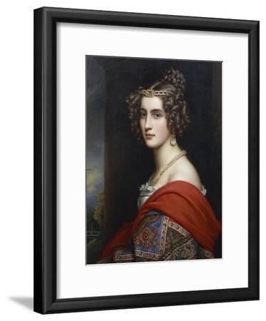 Portrait of Amalia Von Schintling, 1831