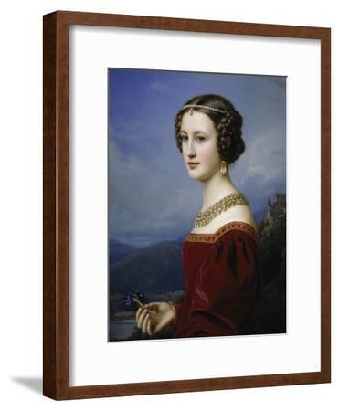 Portrait of Cornelia Vetterlein, 1828
