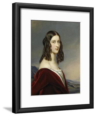 Portrait of Friederike Von Freiin Gumppenberg, 1843