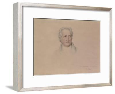 Portrait of Johann Wolfgang Von Goethe, 1828