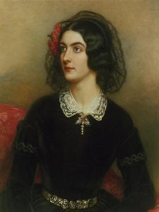 Portrait of Lola Montez (1820-1861). Painted 1847 by Joseph Karl Stieler