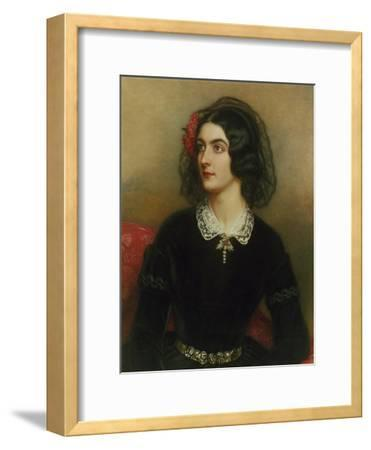 Portrait of Lola Montez (1820-1861). Painted 1847