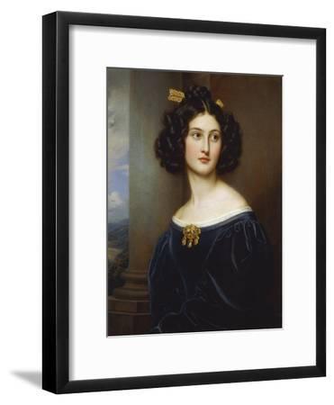 Portrait of Nanette Kaula (1812 - 1876), 1829