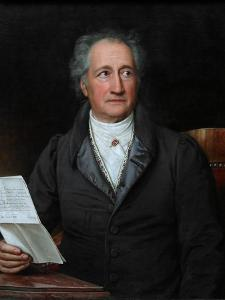 Portrait of the Author Johann Wolfgang Von Goethe (1749-183), 1828 by Joseph Karl Stieler