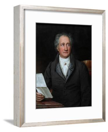 Portrait of the Author Johann Wolfgang Von Goethe (1749-183), 1828