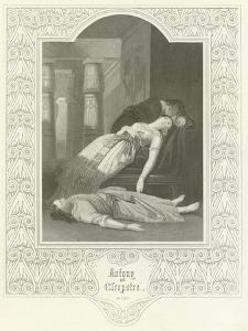 Antony and Cleopatra, Act V, Scene II by Joseph Kenny Meadows