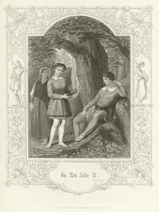As You Like It, Act III, Scene II by Joseph Kenny Meadows