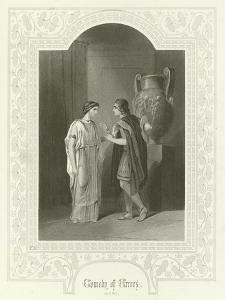 Comedy of Errors, Act III, Scene II by Joseph Kenny Meadows