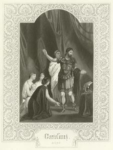 Coriolanus, Act V, Scene III by Joseph Kenny Meadows