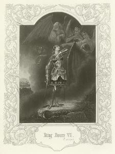 King Henry VI, Act V, Scene III by Joseph Kenny Meadows