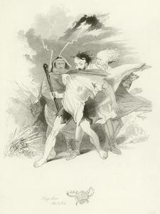King Lear by Joseph Kenny Meadows