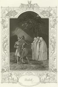 Macbeth, Act I, Scene III by Joseph Kenny Meadows