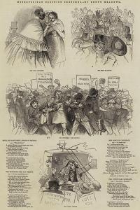 Metropolitan Election Sketches by Joseph Kenny Meadows