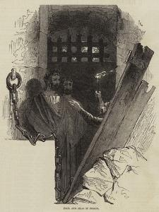 Paul and Silas in Prison by Joseph Kenny Meadows