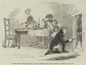 Scene from The Chimes, at the Adelphi Theatre by Joseph Kenny Meadows