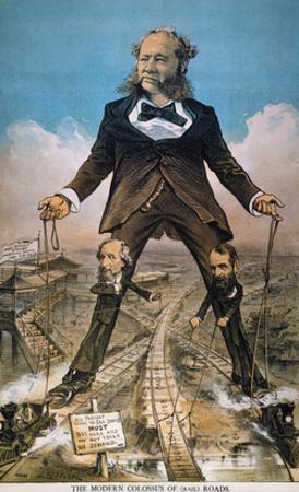 Anti-Trust Cartoon, 1879