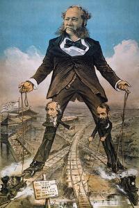 Anti-Trust Cartoon, 1879 by Joseph Keppler